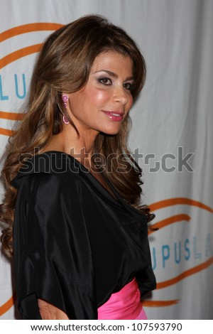 LOS ANGELES - MAY 24: Paula Abdul at the at the 12th Annual Lupus LA Orange Ball at Beverly Wilshire Hotel on May 24, 2012 in Beverly Hllls, California