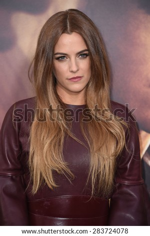 """LOS ANGELES - MAY 07:  Riley Keough arrives to the """"Mad Max: Fury Road"""" Los Angeles Premiere  on May 7, 2015 in Hollywood, CA                 - stock photo"""
