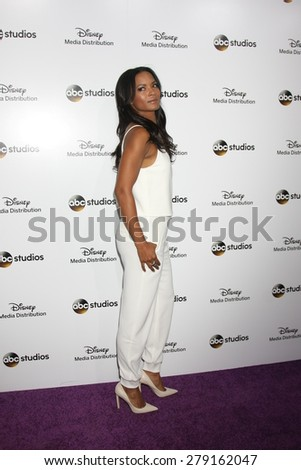 LOS ANGELES - MAY 17:  Rose Rollins at the ABC International Upfronts 2015 at the Disney Studios on May 17, 2015 in Burbank, CA