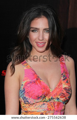 "LOS ANGELES - MAY 3:  Ryan Newman at the ""Where Hope Grows"" Los Angeles Premiere at the ArcLight Hollywood Theaters on May 3, 2015 in Los Angeles, CA - stock photo"
