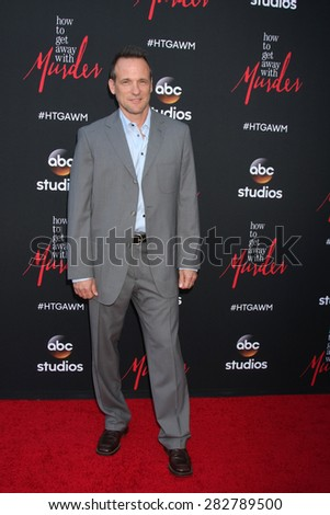 "LOS ANGELES - MAY 28:  Tom Verica at the ""How To Get Away With Murder"" ATAS FYC Event at the Sunset Gower Studios on May 28, 2015 in Los Angeles, CA"