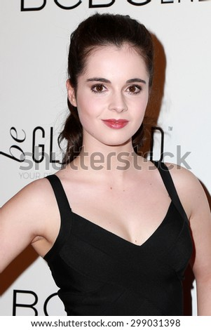 LOS ANGELES - MAY 7:  Vanessa Marano at the NYLON Magazine Young Hollywood Issue Party  at the HYDE Sunset on May 7, 2015 in West Hollywood, CA - stock photo