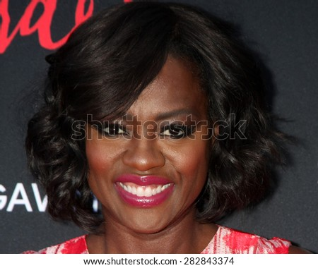 "LOS ANGELES - MAY 28:  Viola Davis at the ""How To Get Away With Murder"" ATAS FYC Event at the Sunset Gower Studios on May 28, 2015 in Los Angeles, CA - stock photo"