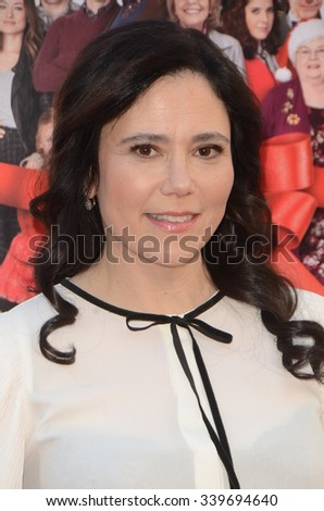 "LOS ANGELES - NOV 12:  Alex Borstein at the ""Love the Coopers"" Los Angeles Premiere at the The Grove on November 12, 2015 in Los Angeles, CA - stock photo"