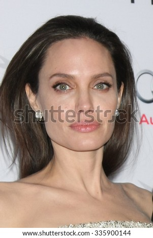 "LOS ANGELES - NOV 5:  Angelina Jolie Pitt at the AFI FEST 2015 Presented By Audi Opening Night Gala Premiere of ""By The Sea"" at the TCL Chinese Theater on November 5, 2015 in Los Angeles, CA"