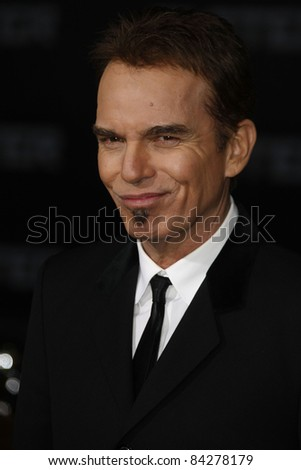 LOS ANGELES - NOV 22: Billy Bob Thornton at the Premiere of 'Faster' held at Grauman's Chinese Theater in Los Angeles, California on November 22, 2010 - stock photo