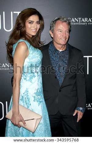 """LOS ANGELES - NOV 17:  Blanca Blanco, John Savage at the """"Youth"""" LA Premiere at the Directors Guild of America on November 17, 2015 in Los Angeles, CA - stock photo"""