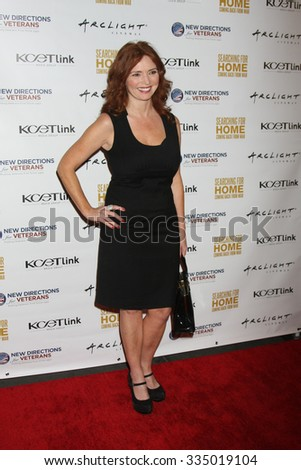 "LOS ANGELES - NOV 2:  Brigid Brannagh at the ""Searching for Home: Coming Back From War"" Premiere Screening Event at the ArcLight Theaters on November 2, 2015 in Sherman Oaks, CA"