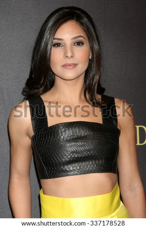 LOS ANGELES - NOV 7:  Camila Banus at the Days of Our Lives 50th Anniversary Party at the Hollywood Palladium on November 7, 2015 in Los Angeles, CA - stock photo