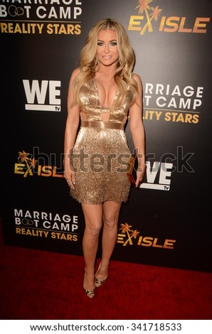 "LOS ANGELES - NOV 19:  Carmen Electra at the Premieres Of ""Marriage Boot Camp Reality Stars"" and ""Ex-isle"" at the Le Jardin on November 19, 2015 in Los Angeles, CA"