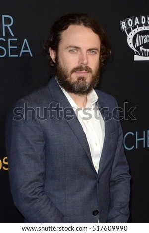 "LOS ANGELES - NOV 14:  Casey Affleck at the ""Manchester By The Sea"" at Samuel Goldwyn Theater on November 14, 2016 in Beverly Hills, CA"