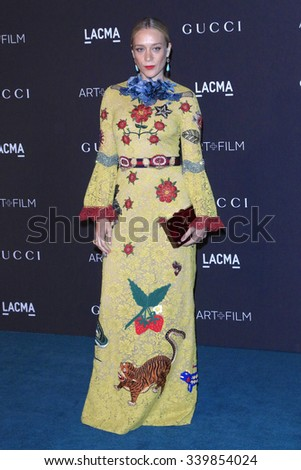 LOS ANGELES - NOV 7:  Chloe Sevigny at the LACMA Art + Film Gala at the  LACMA on November 7, 2015 in Los Angeles, CA - stock photo