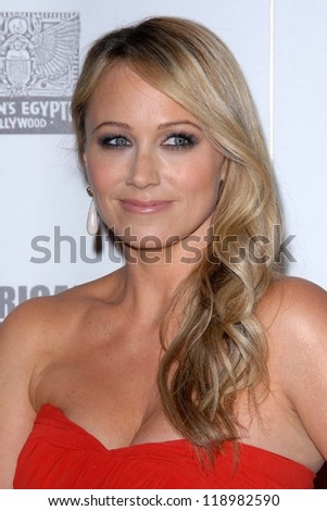 LOS ANGELES - NOV 15:  Christine Taylor arrives for the 26th American Cinematheque Award Honoring Ben Stiller at Beverly Hilton Hotel on November 15, 2012 in Beverly Hills, CA