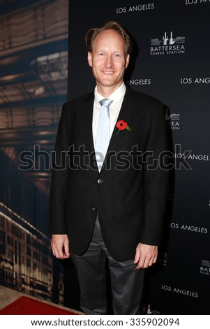 LOS ANGELES - NOV 6:  Christopher O'Connor at the Battersea Power Station Global Launch Party at the The London on November 6, 2014 in West Hollywood, CA - stock photo