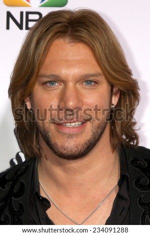 "LOS ANGELES - NOV 24:  Craig Wayne Boyd at the ""The Voice"" Season 7 Red Carpet at the Universal City Walk on November 24, 2014 in Los Angeles, CA - stock photo"