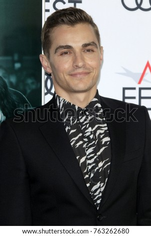 "LOS ANGELES - NOV 12:  Dave Franco at the AFI FEST 2017 ""The Disaster Artist"" Screening at the TCL Chinese Theater IMAX on November 12, 2017 in Los Angeles, CA"