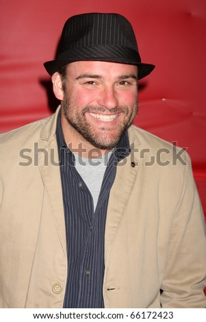 LOS ANGELES - NOV 28:  David DeLuise arrives at the 2010 Hollywood Christmas Parade at Hollywood Boulevard on November 28, 2010 in Los Angeles, CA