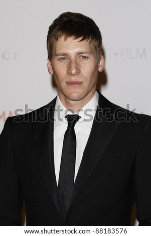 LOS ANGELES - NOV 5: Dustin Lance Black at the LACMA Art + Film Gala on November 5, 2011 in Los Angeles, California