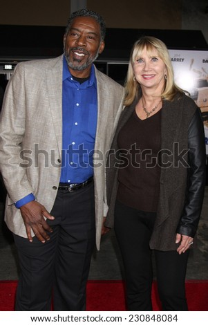 LOS ANGELES - NOV 3:  Ernie Hudson at the Dumb and Dumber To Premiere at the Village Theater on November 3, 2014 in Los Angeles, CA - stock photo
