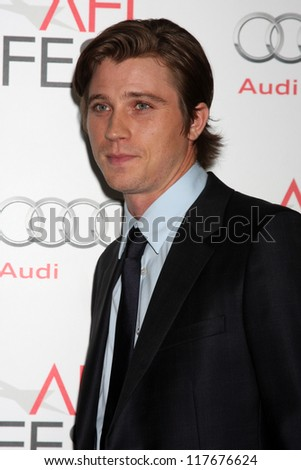 "LOS ANGELES - NOV 3:  Garrett Hedlund arrives at the AFI Film Festival 2012  ""On the Road"" Gala Screening at Los Angeles on November 3, 2012 in Graumans Chinese Theater, CA"
