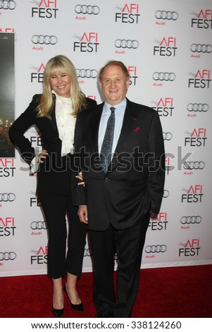 "LOS ANGELES - NOV 9:  Irena Medavoy, Mike Medavoy at the AFI Fest 2015 Presented by Audi - ""The 33"" Premiere at the TCL Chinese Theater on November 9, 2015 in Los Angeles, CA"