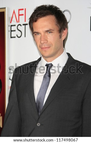 LOS ANGELES - NOV 1: James D'Arcy at the premiere of 'Hitchcock' during AFI Fest 2012 at Grauman's Chinese Theater on November 1, 2012 in Los Angeles, California