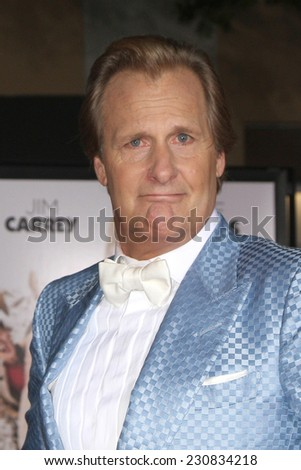 LOS ANGELES - NOV 3:  Jeff Daniels at the Dumb and Dumber To Premiere at the Village Theater on November 3, 2014 in Los Angeles, CA - stock photo