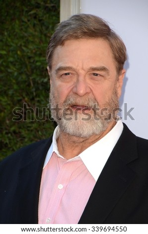 "LOS ANGELES - NOV 12:  John Goodman at the ""Love the Coopers"" Los Angeles Premiere at the The Grove on November 12, 2015 in Los Angeles, CA - stock photo"