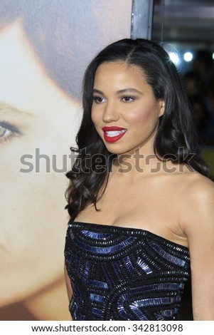 "LOS ANGELES - NOV 21:  Jurnee Smollett at the ""The Danish Girl"" Premiere at the Village Theater on November 21, 2015 in Westwood, CA"