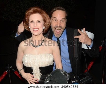 """LOS ANGELES - NOV 17:  Kat Kramer, Todd Williamson at the """"Youth"""" LA Premiere at the Directors Guild of America Theater on November 17, 2015 in Los Angeles, CA - stock photo"""