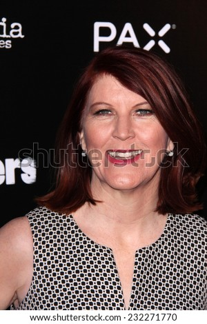 "LOS ANGELES - NOV 18:  Kate Flannery at the ""Life Partners"" Los Angeles Special Screening at the ArcLight Hollywood Theaters on November 18, 2014 in Los Angeles, CA - stock photo"