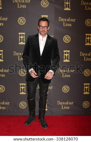 LOS ANGELES - NOV 7:  Lawrence Zarian at the Days of Our Lives 50th Anniversary Party at the Hollywood Palladium on November 7, 2015 in Los Angeles, CA - stock photo