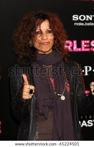"LOS ANGELES - NOV 15:  Linda Perry arrives at the ""Burlesque"" LA Premiere  at Grauman's Chinese Theater on November 15, 2010 in Los Angeles, CA"