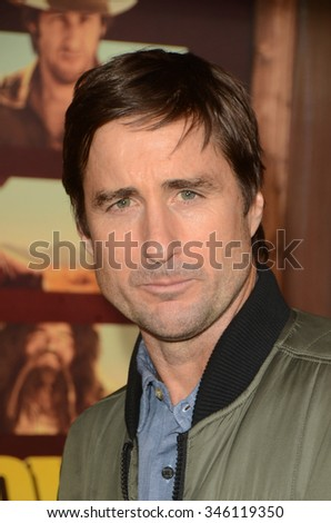 "LOS ANGELES - NOV 30:  Luke Wilson at the ""The Ridiculous 6"" Los Angeles Premiere at the AMC Universal City Walk on November 30, 2015 in Los Angeles, CA"