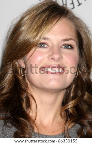 """LOS ANGELES - NOV 29:  Maggie Lawson arrives at """"Psych:  A Twin Peaks Gathering"""" at Paley Center for Media on November 29, 2010 in Beverly Hills, CA - stock photo"""