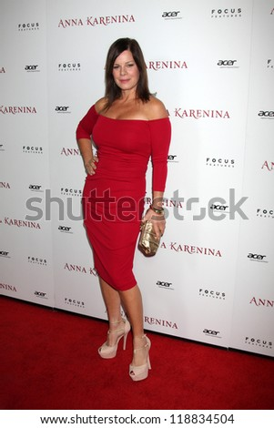 LOS ANGELES - NOV 14:  Marcia Gay Harden arrives to the 'Anna Karenina' Los Angeles Premiere at ArcLight Hollywood on November 14, 2012 in Los Angeles, CA