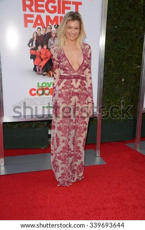"""LOS ANGELES - NOV 12:  Meredith Hennessy at the """"Love the Coopers"""" Los Angeles Premiere at the The Grove on November 12, 2015 in Los Angeles, CA - stock photo"""