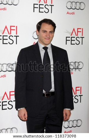"LOS ANGELES - NOV 8:  Michael Stuhlbarg arrives at the ""Lincoln"" Premiere at the AFI Fest at Graumans Chinese Theater on November 8, 2012 in Los Angeles, CA"