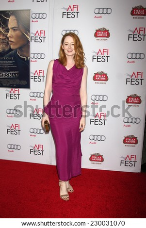 "LOS ANGELES - NOV 11:  Miranda Otto at the ""THe Homesman"" Screening at AFI Film Festival at the Dolby Theater on November 11, 2014 in Los Angeles, CA"