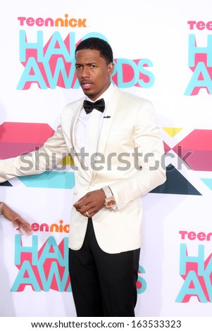 LOS ANGELES - NOV 17:  Nick Cannon at the TeenNick Halo Awards at Hollywood Palladium on November 17, 2013 in Los Angeles, CA