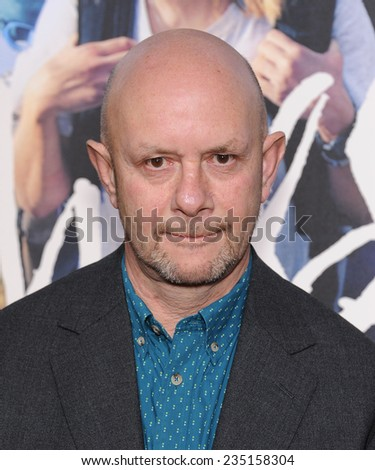 """LOS ANGELES - NOV 19:  Nick Hornby arrives to the """"Wild"""" Los Angeles Premiere on November 19, 2014 in Beverly Hills, CA                 - stock photo"""