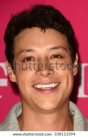 LOS ANGELES - NOV 10:  Reynaldo Pacheco at the T-Mobile Un-carrier X Launch Celebration at the Shrine Auditorium on November 10, 2015 in Los Angeles, CA - stock photo
