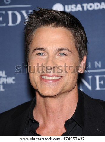 "LOS ANGELES - NOV 04:  Rob Lowe arrives to the ""Killing Kennedy"" Los Angeles Premiere  on November 04, 2013 in Los Angeles, CA"