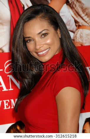LOS ANGELES - NOV 5:  Rochelle Aytes arrives at The Best Man Holiday World Premiere  on November 5, 2013 in Culver City, CA                 - stock photo