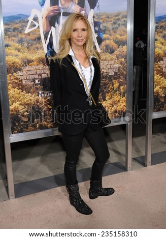 """LOS ANGELES - NOV 19:  Rosanna Arquette arrives to the """"Wild"""" Los Angeles Premiere on November 19, 2014 in Beverly Hills, CA                 - stock photo"""