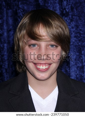 """LOS ANGELES - NOV 22:  RYAN LEE arrives to the """"Super 8"""" DVD Launch  on November 22, 2011 in Beverly Hills, CA                 - stock photo"""