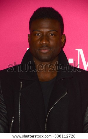 LOS ANGELES - NOV 10:  Sinqua Walls at the T-Mobile Un-carrier X Launch Celebration at the Shrine Auditorium on November 10, 2015 in Los Angeles, CA - stock photo