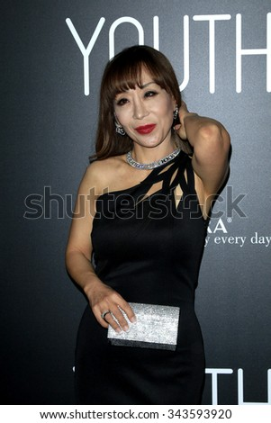 """LOS ANGELES - NOV 17:  Sumi Jo at the """"Youth"""" LA Premiere at the Directors Guild of America on November 17, 2015 in Los Angeles, CA - stock photo"""
