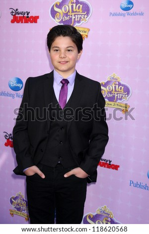 "LOS ANGELES - NOV 10:  Zach Callison arrives at the ""Sofia The First: Once Upon a Princess"" Premiere And Story Book Launch at Walt Disney Studios on November 10, 2012 in Burbank, CA"