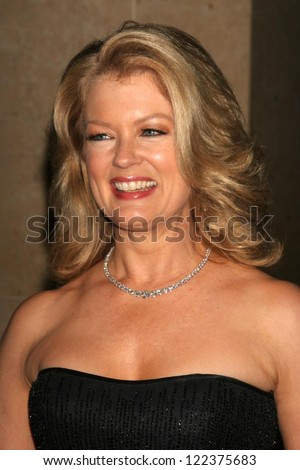 "LOS ANGELES - NOVEMBER 21: Mary Hart at ""An Evening with Larry King and Friends"" fundraising gala at the Beverly Hilton Hotel on November 21, 2006 in Beverly Hills, CA."